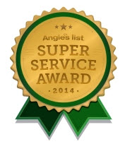 Angies List Super Service Award in Carpet Cleaning, Upholstery Cleaning & Tile Cleaning